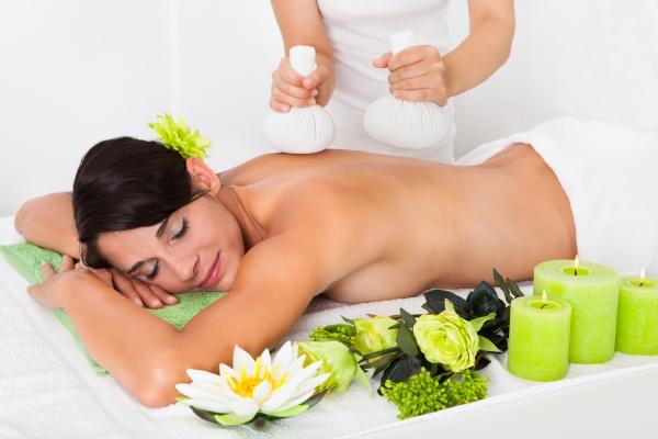 hed varm akupunktur massage terapi rengoring