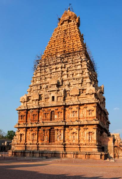 brihadishwarar, temple, tower, (vimana)., thanjavur, , tamil - 28388104