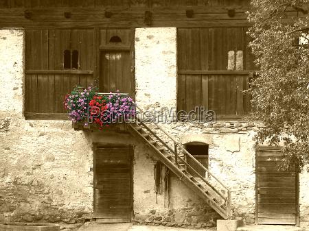 trappe trapper hus bygning vindue trae