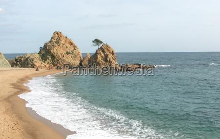 strand seaside stranden kysten spanien vand