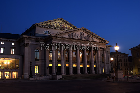 münchens, national, teater - 218695