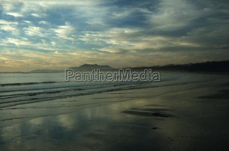 ferie solnedgang aftenstemning canada saltvand havet