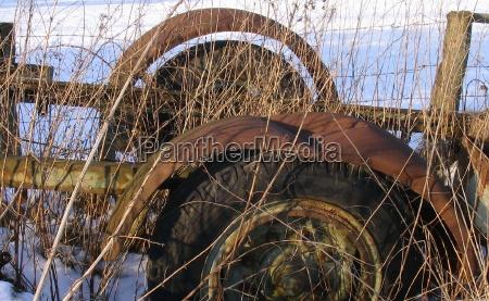 landbrug koretoj rustfrit skrot gaze affald
