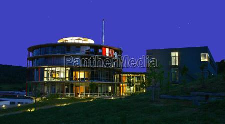 nat nattetid stil af byggeri arkitektur