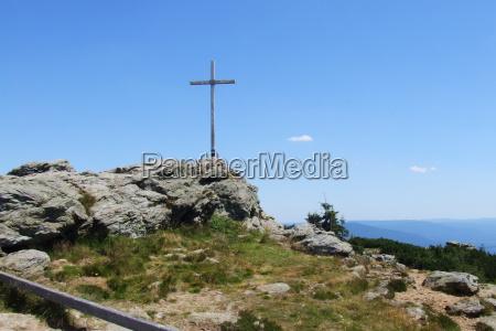 summit cross great arber