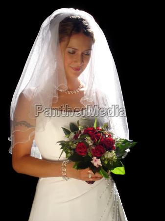 kvinde portraet bryllup vielse indgaelse af