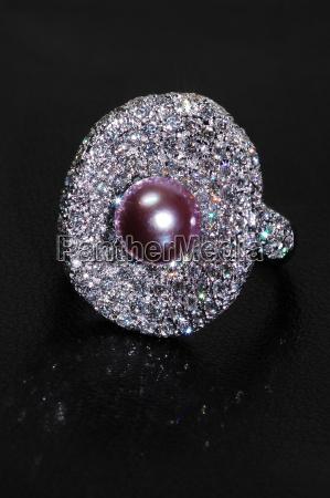 diamant hvidguld stralende