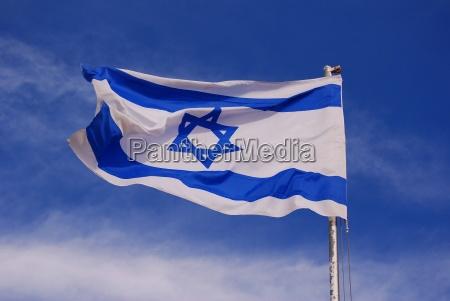israelsk, flag - 498022