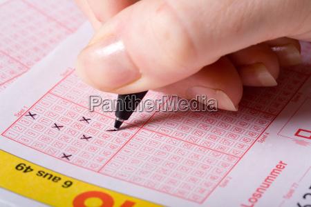 fyld lotteriseddel
