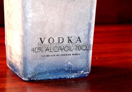 alkohol is velbevandret flaske liquor ice