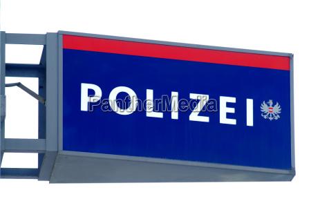 politiet skjold