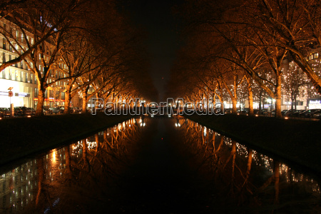 trae traeer vinter bro nat nattetid