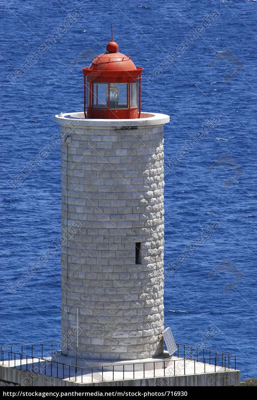 leuchtturm, vor, marseille - 716930