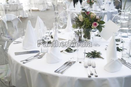 tabel dekoration