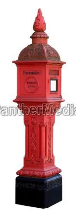 english fire alarms