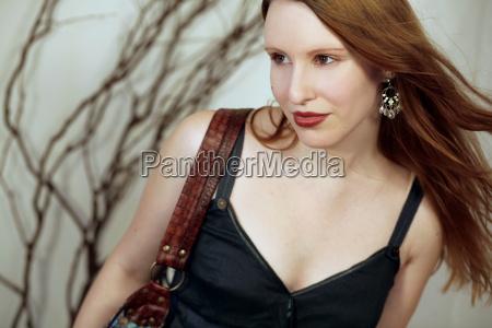 kvinde handtaske smukke smuk skon aestetisk