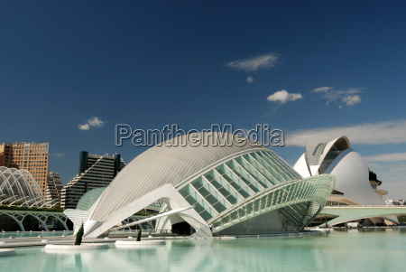 futuristiske bygninger i valencia
