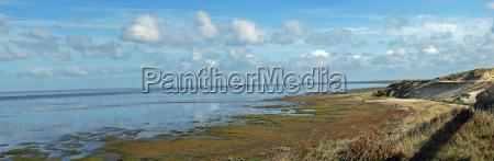 vand nordsoen saltvand havet kyst udsigt