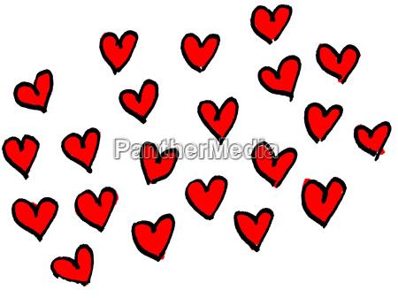 romantik tegning foto hjerte kaerlighed i