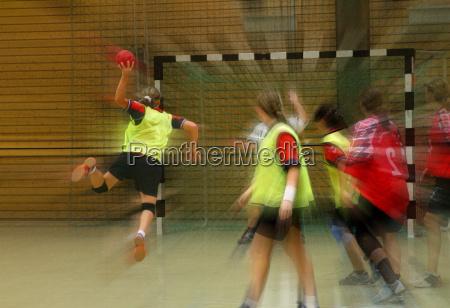 piger handbold