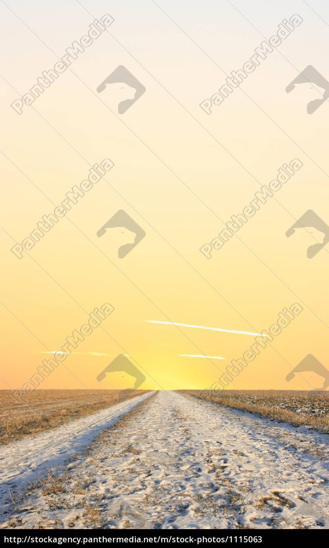 vej, til, solen - 1115063