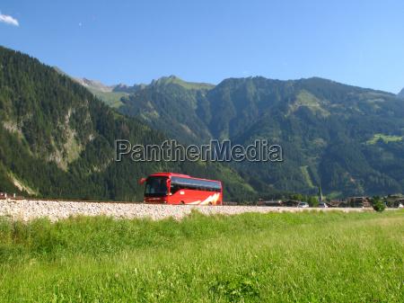 bus tur til bjergene