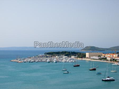 ferie sommer sommerlig adriatic kroatien badehavn
