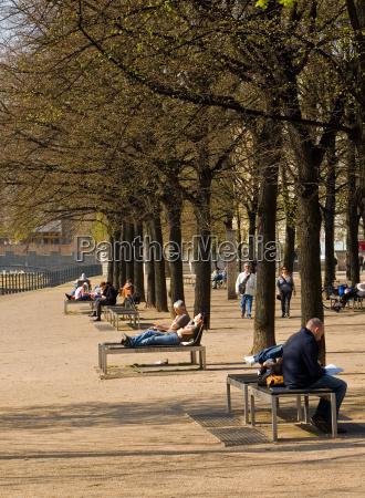 kultur park menneske berlin rekreation lysthave