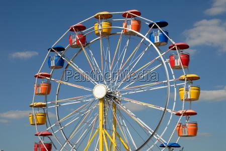 farverige pariserhjul