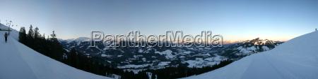 bjerge solopgang udsigt udsyn vue vid