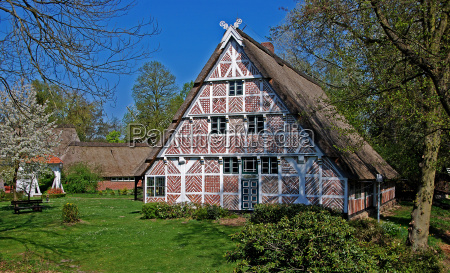 tudor style house in the old