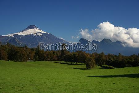 chile sydamerika vulcan vulkan
