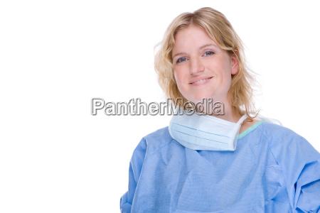 laege medic kvinde bla drift