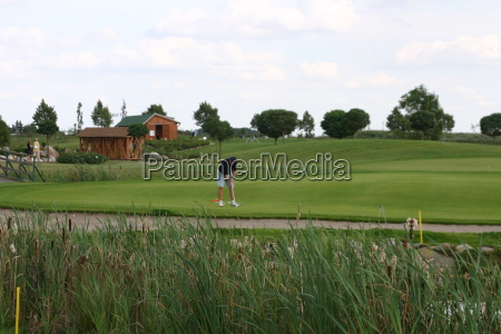 gron gront gronne golf golfbane put