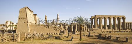 rejse historisk tempel sevaerdighed sojle egypten