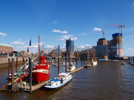 warehouse a with lightship