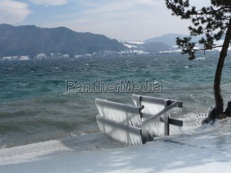 vinter is saltvand havet ocean vand