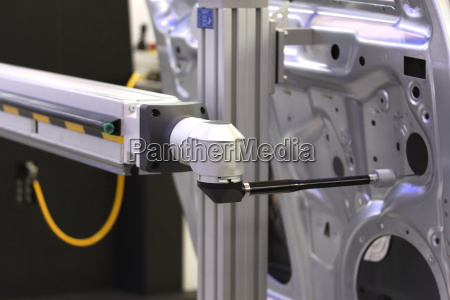 button of the measuring robot