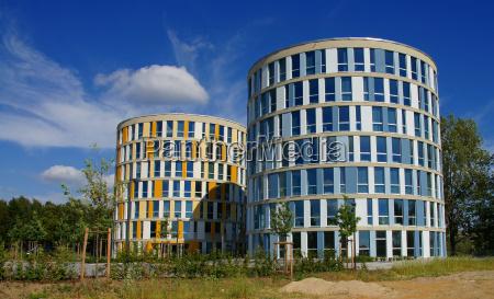 casas moderno rascacielos estilo de construccion
