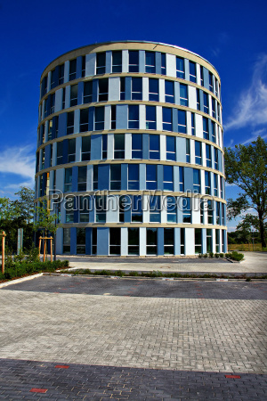 hus hojhus etageejendom bygning moderne kontorbygning