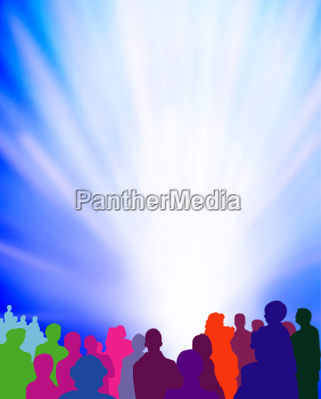 spectator event ligtshow graphic