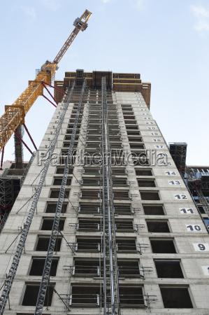 bygning under opforelse