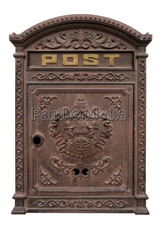 antique postbox