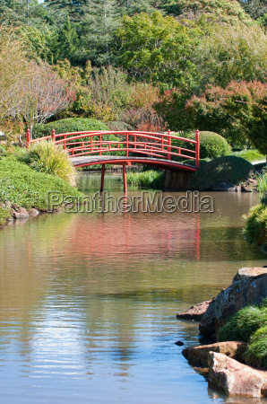 beautiful and tranquil japanese style garden
