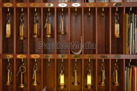hotel, nøgler - 4436365
