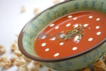 gronsager let tomatsuppe grontsagssuppe tomat frisk