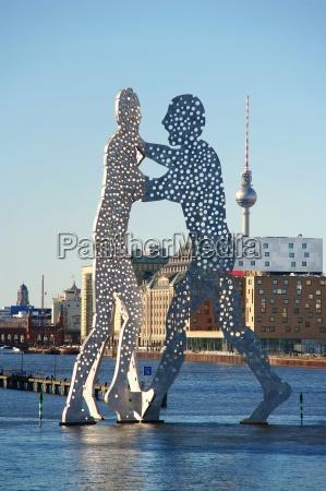 skulptur berlin samfund gruppe