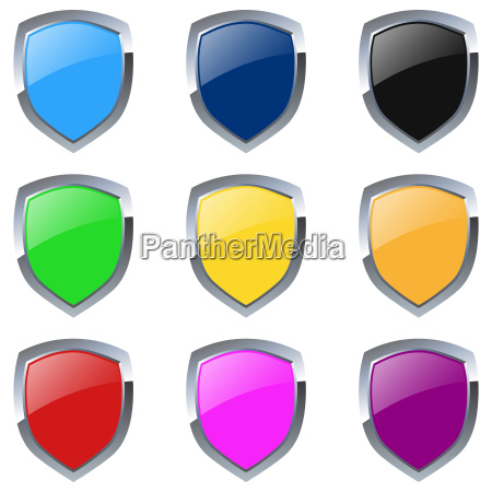 emblems colorful