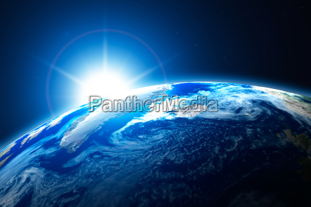 nordlige del af jorden arktis med