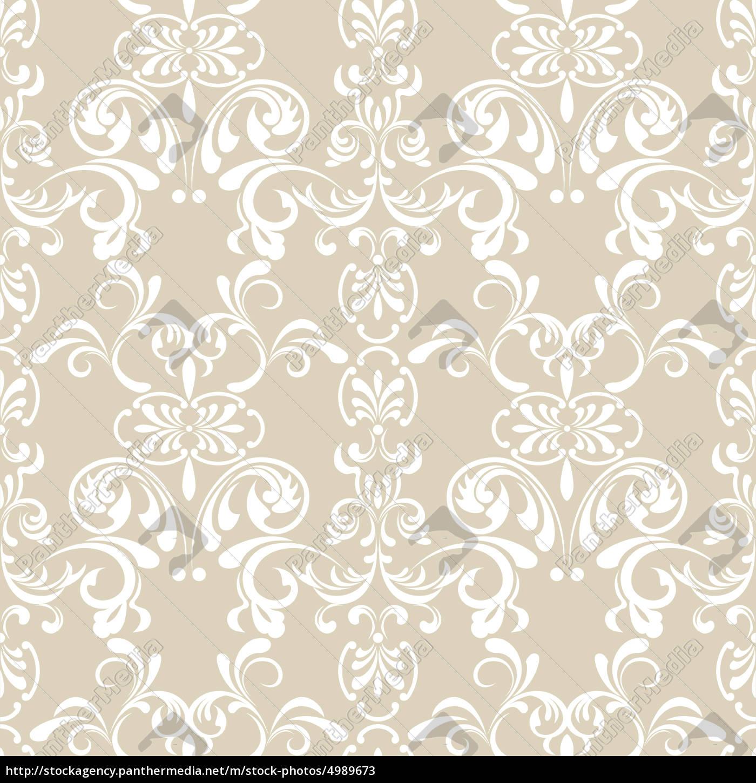 problemfri, blomstermønster - 4989673